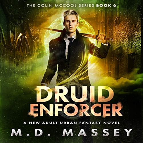 Druid Enforcer audiobook cover art