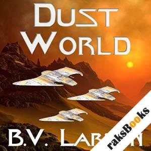 Dust World audiobook cover art