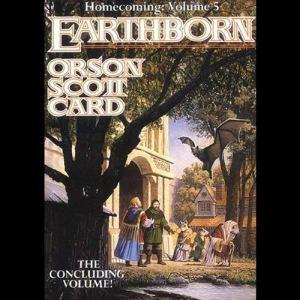Earthborn audiobook cover art