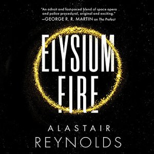Elysium Fire audiobook cover art
