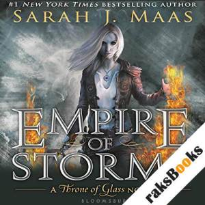 Empire of Storms audiobook cover art