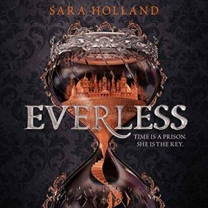 Everless audiobook cover art