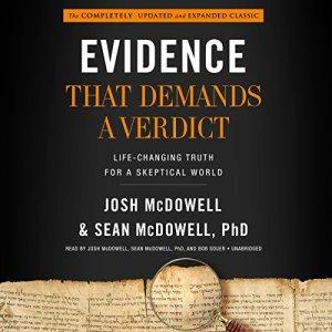 Evidence That Demands a Verdict audiobook cover art