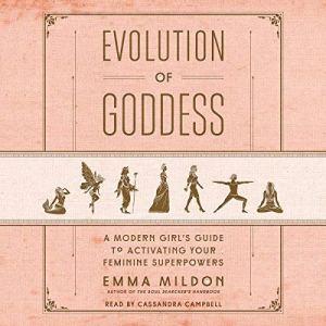 Evolution of Goddess audiobook cover art