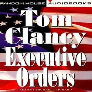 Executive Orders audiobook cover art