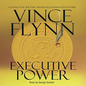 Executive Power audiobook cover art