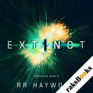 Extinct audiobook cover art
