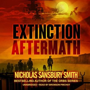 Extinction Aftermath audiobook cover art