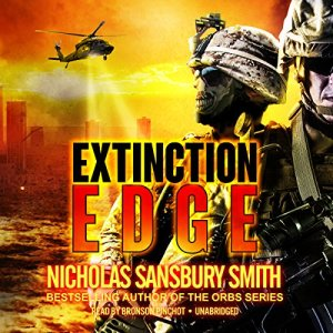 Extinction Edge audiobook cover art