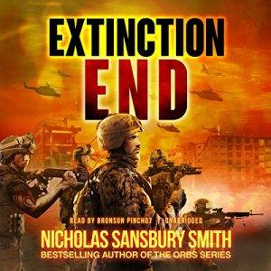 Extinction End audiobook cover art