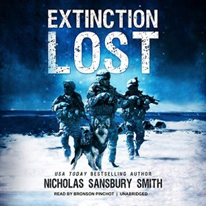 Extinction Lost audiobook cover art