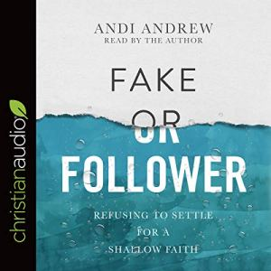 Fake or Follower audiobook cover art