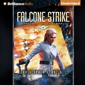 Falcone Strike audiobook cover art
