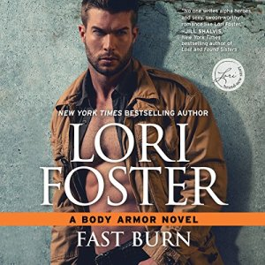 Fast Burn audiobook cover art