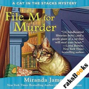 File M for Murder audiobook cover art