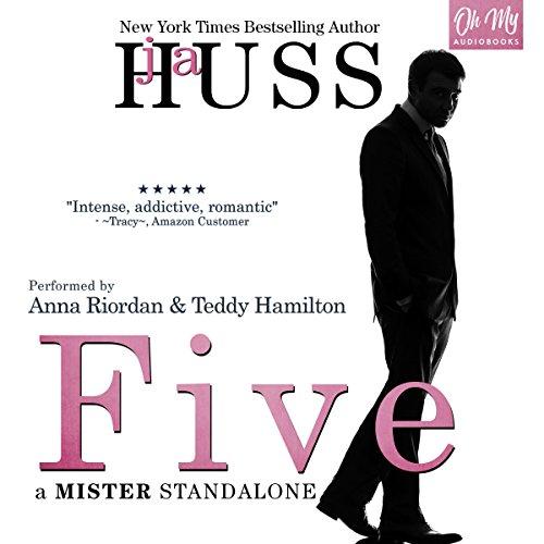 Five audiobook cover art