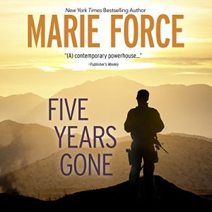 Five Years Gone audiobook cover art