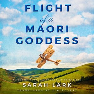 Flight of a Maori Goddess audiobook cover art