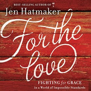 For the Love audiobook cover art