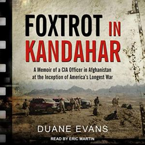 Foxtrot in Kandahar audiobook cover art