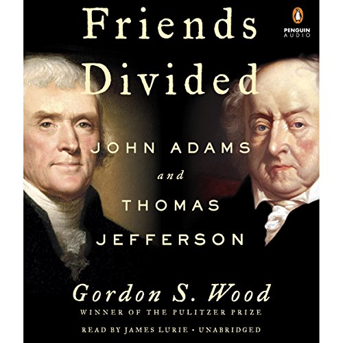 Friends Divided audiobook cover art