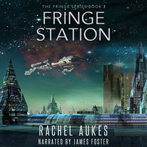 Fringe Station audiobook cover art
