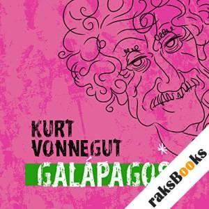 Galapagos  audiobook cover art
