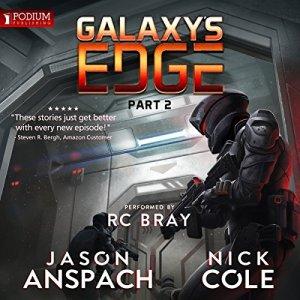 Galaxy's Edge, Part II audiobook cover art