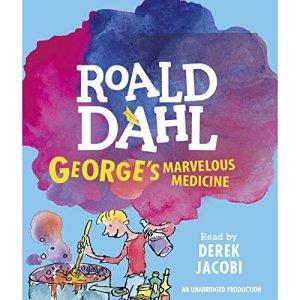 George's Marvelous Medicine audiobook cover art