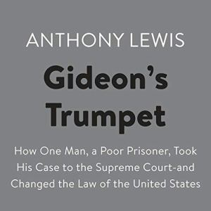 Gideon's Trumpet audiobook cover art