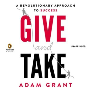 Give and Take audiobook cover art