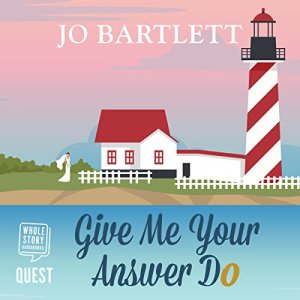 Give Me Your Answer Do audiobook cover art