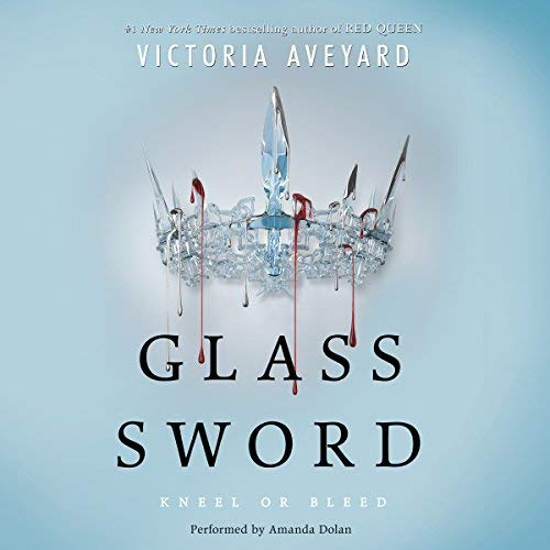 Glass Sword audiobook cover art