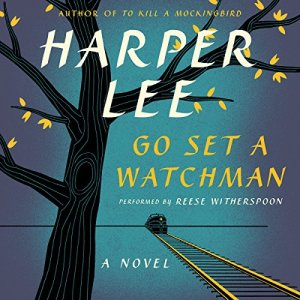 Go Set a Watchman audiobook cover art