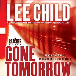 Gone Tomorrow audiobook cover art