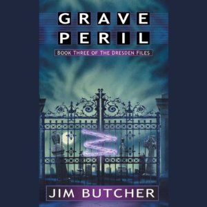 Grave Peril audiobook cover art