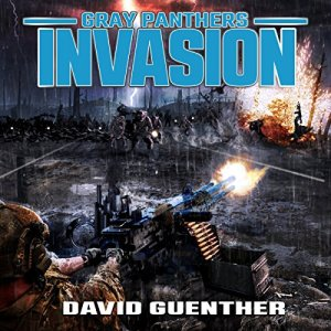 Gray Panthers Invasion audiobook cover art