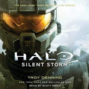 Halo: Silent Storm audiobook cover art
