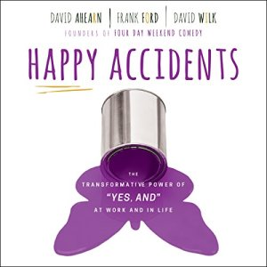 Happy Accidents audiobook cover art