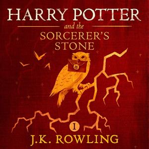 Harry Potter and the Sorcerer's Stone, Book 1 audiobook cover art
