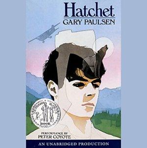 Hatchet audiobook cover art