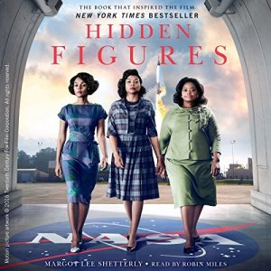 Hidden Figures audiobook cover art