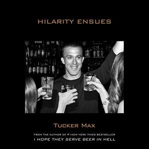Hilarity Ensues audiobook cover art