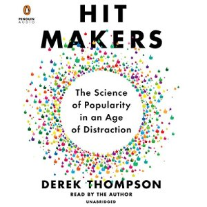 Hit Makers audiobook cover art