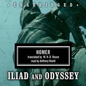 Homer Box Set: Iliad & Odyssey audiobook cover art