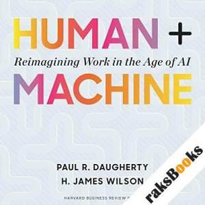Human + Machine audiobook cover art
