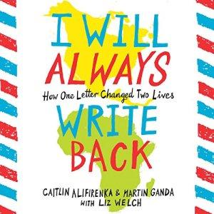 I Will Always Write Back audiobook cover art