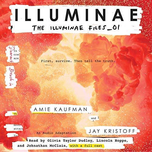 Illuminae audiobook cover art
