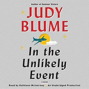 In the Unlikely Event audiobook cover art