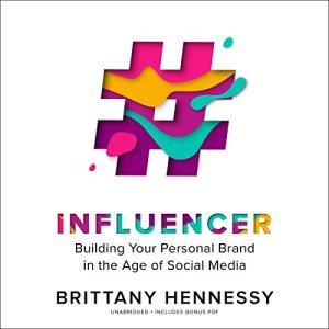 Influencer audiobook cover art
